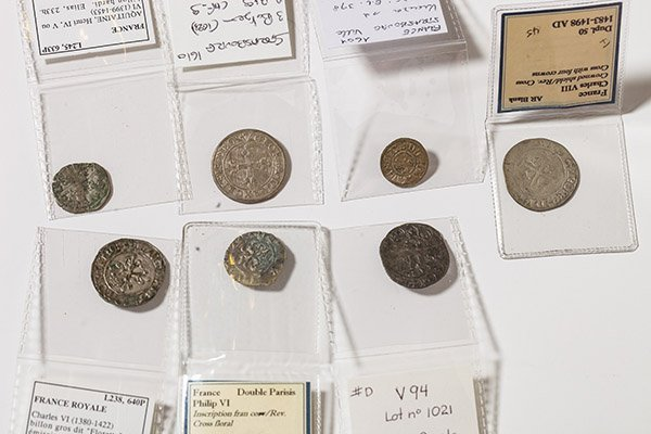 Lot of 7 France Medieval Coins - 3
