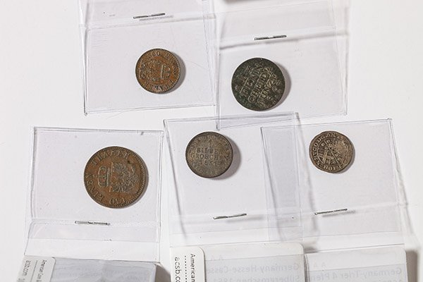 Lot of 5 German Coins - 2