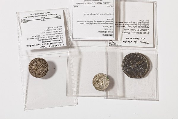 2 Medieval & 1 Ancient coin - 2