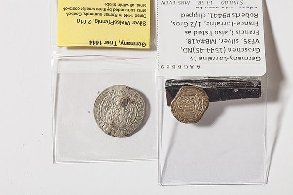 2 Germany Medieval Coins - 2