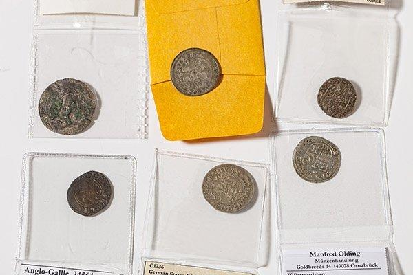 6 England & German Medieval Coins - 2