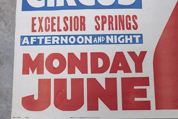 Al G. Kelly & Miller Bros. Circus Poster - 4