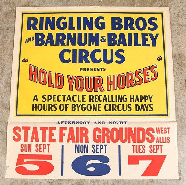 Ringling Bros. Barnum & Bailey Circus Poster