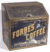 Forbes Coffee Tin Store Bin