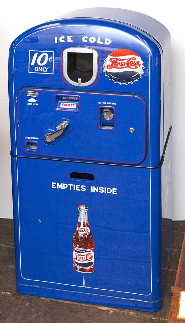 1950's Ten Cent Pepsi-Cola Machine