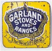 Garland Stoves Porcelain Sign