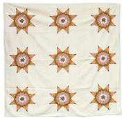 Early Pieced Star Quilt