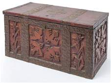 Native American Themed Arts  Crafts Box