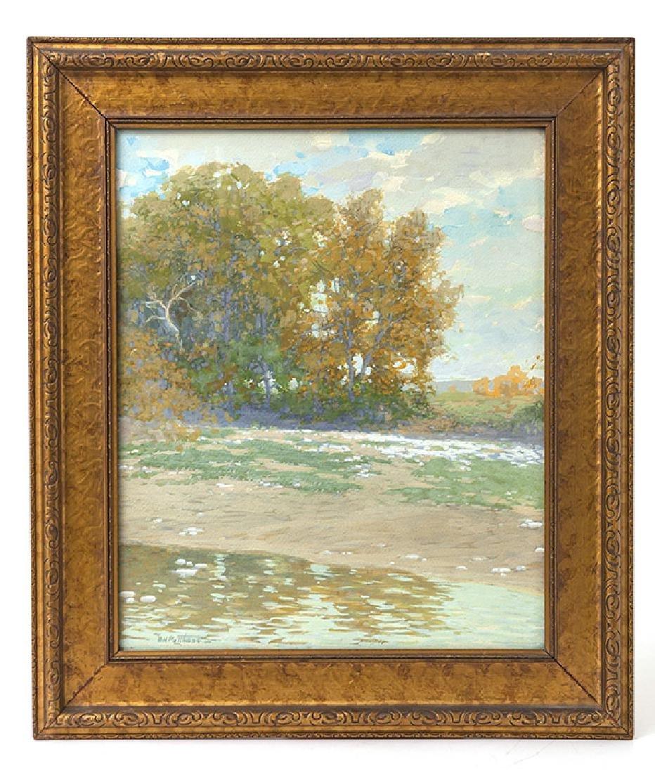 Edward Henry Potthast II Gouache Painting