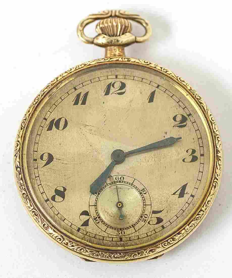 Bulova 14k Gold Pocket Watch