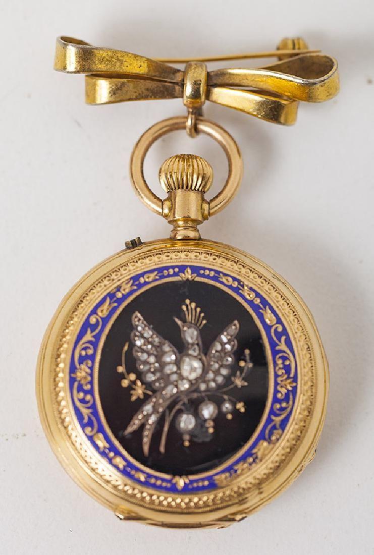 European 18k Gold Pocket Watch