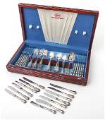 Sterling Silver Flatware Set Old Master by Towle