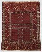 Semi-Antique Nomadic Oriental Rug