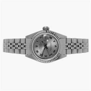 Rolex Ladies 69174 Datejust - Silver Roman Dial