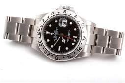 Rolex Mens Explorer II - Black Dial -16570