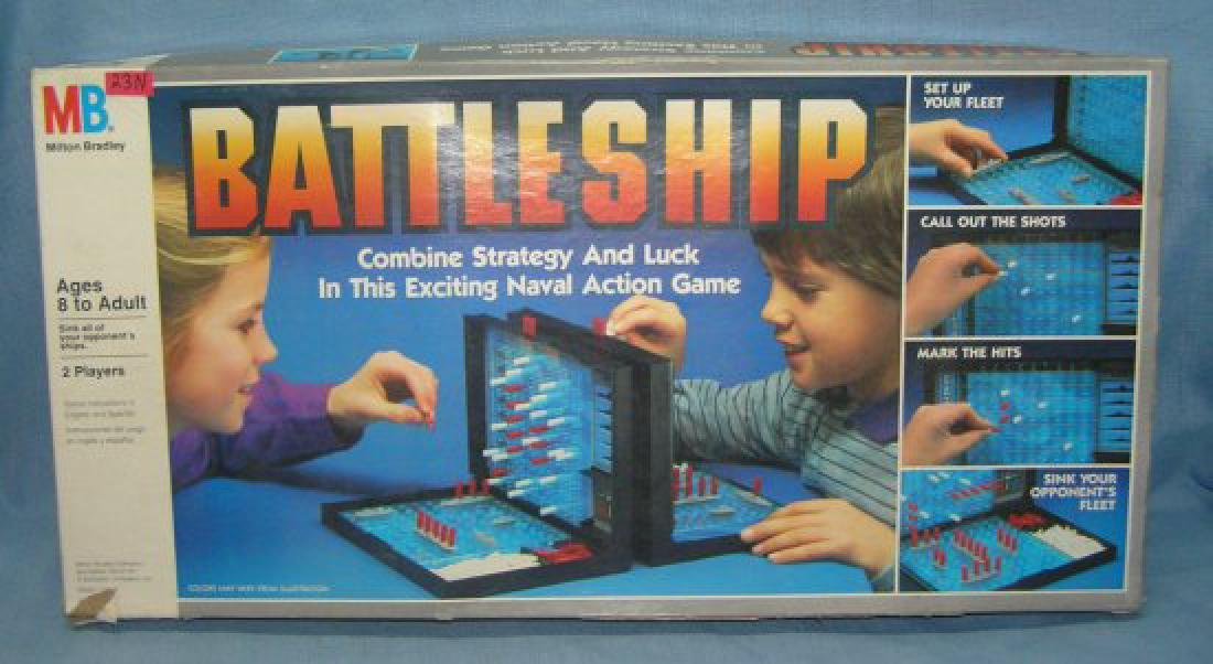 Battleship by Milton Bradley circa 1984