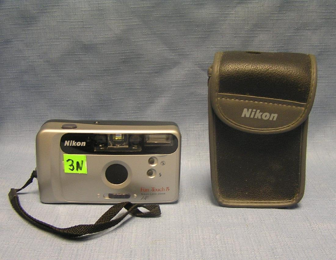 Nikon Funtouch 5 camera and case