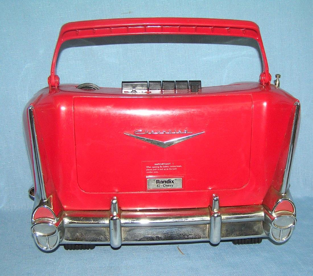 Chevrolet figural AM/FM radio and cassette player