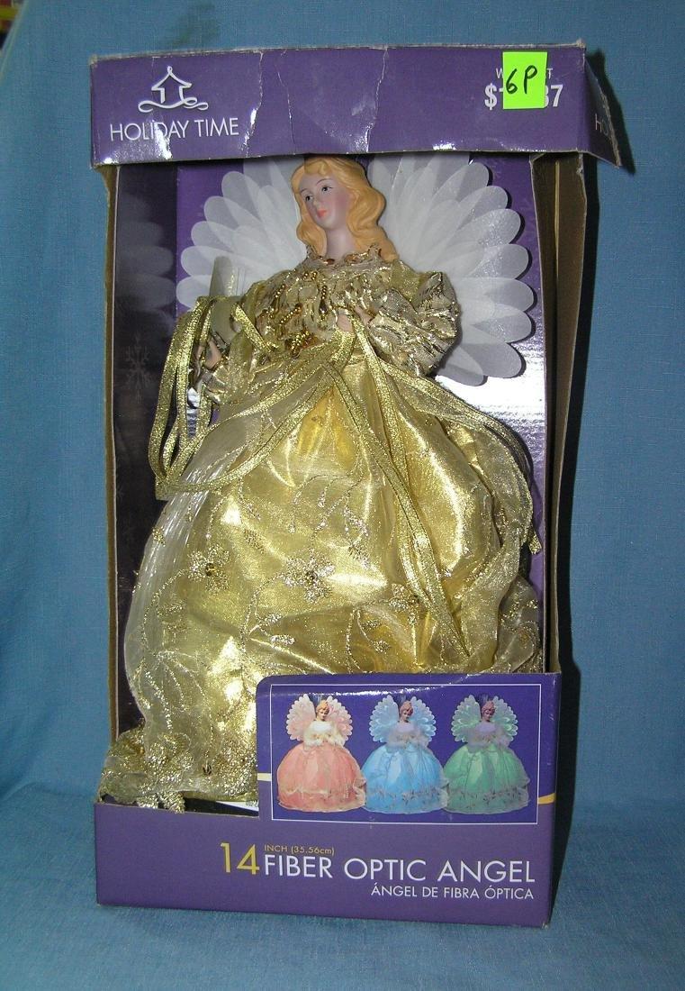 14 inch angel doll with fiber optic illumination