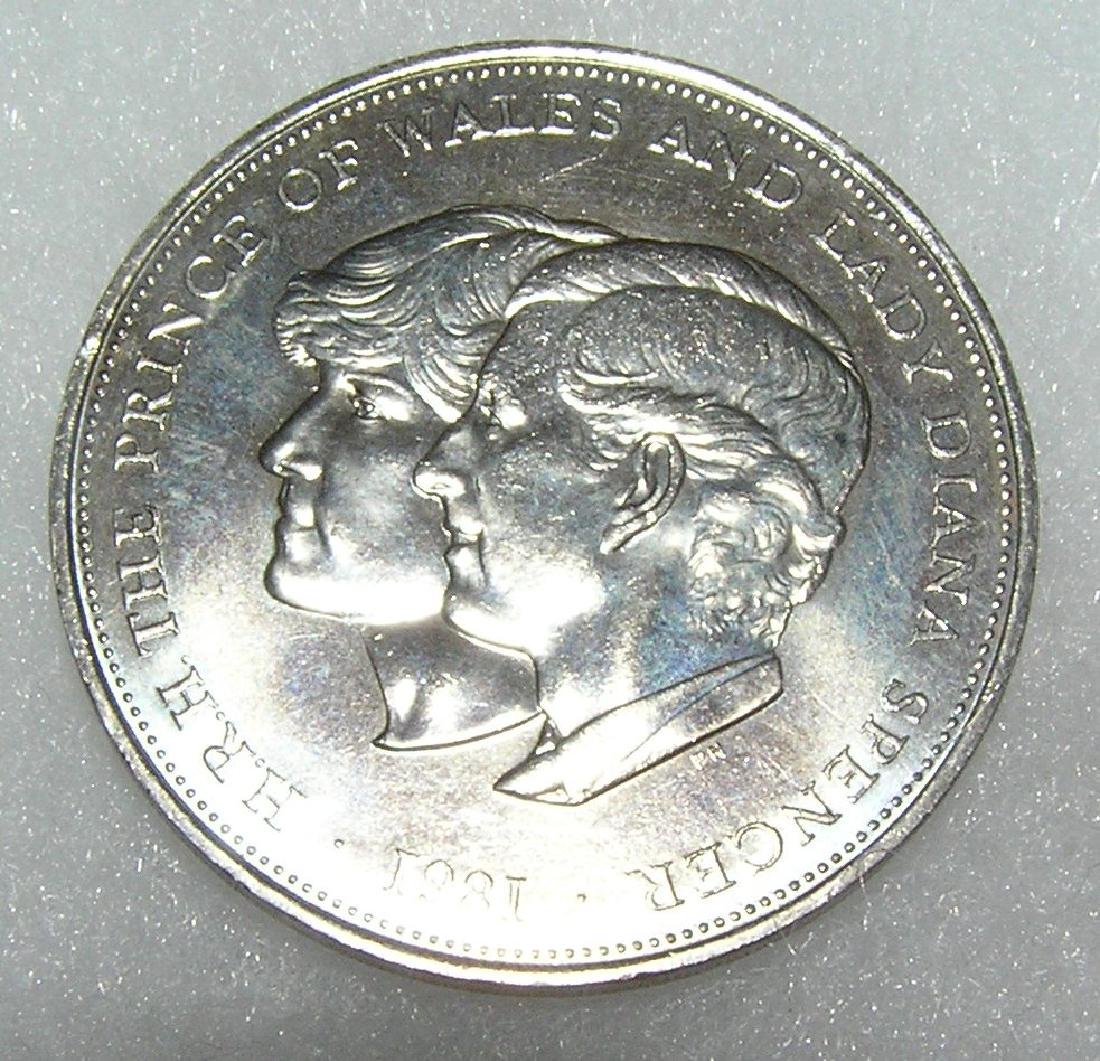 Charles and Lady Diana commemorative medallion