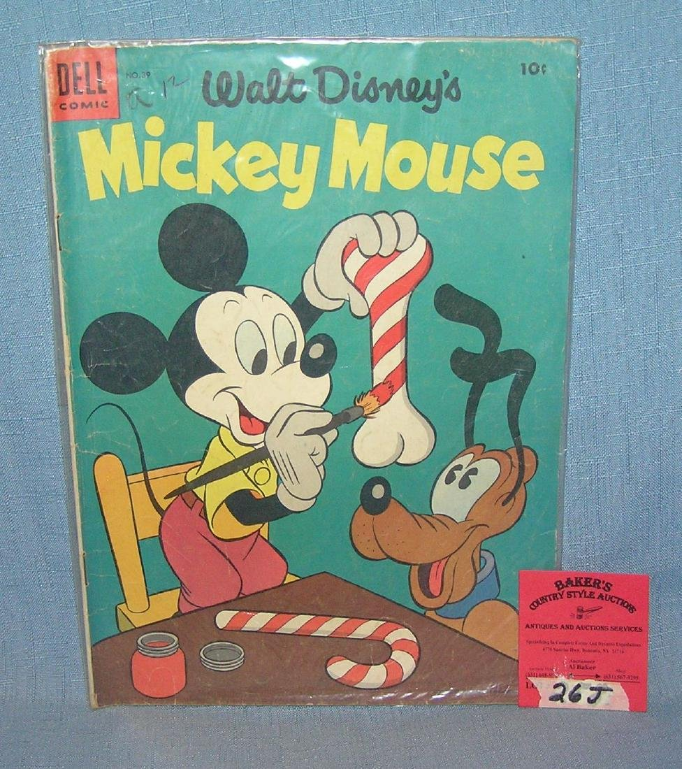 Early Mickey Mouse 10 cent comic book