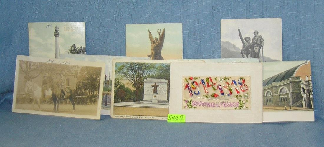 Collection of WWI era post cards