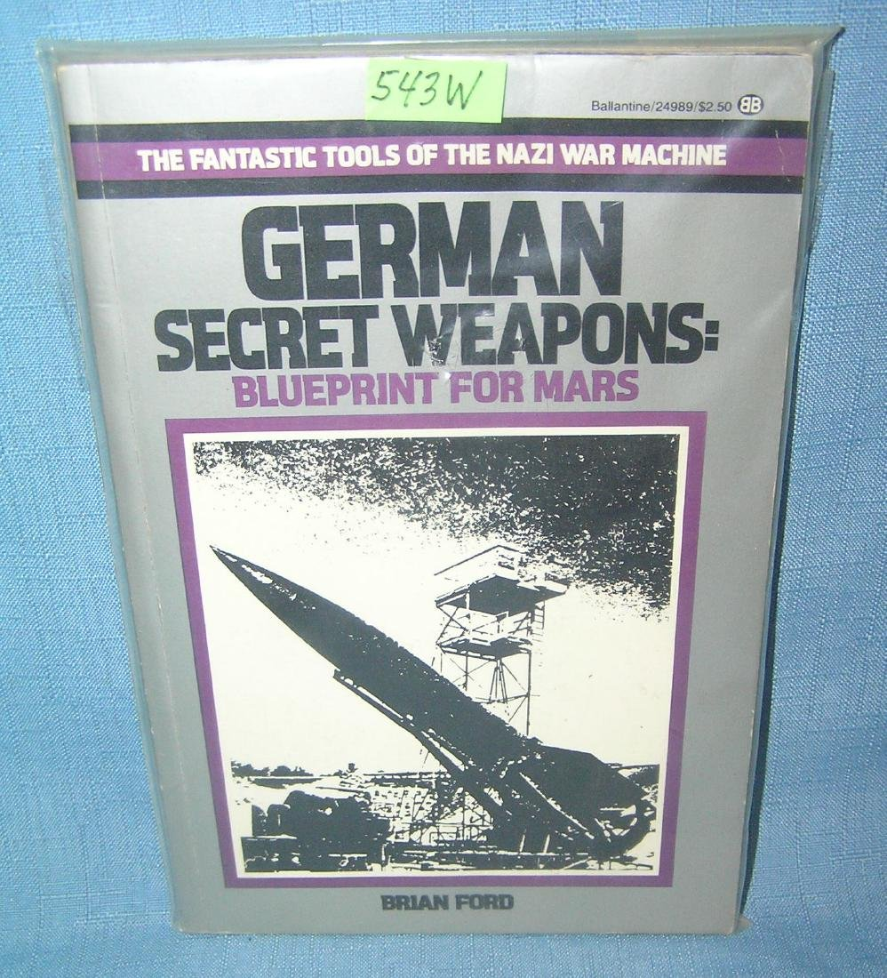 German Secret Weapons by Brian Ford