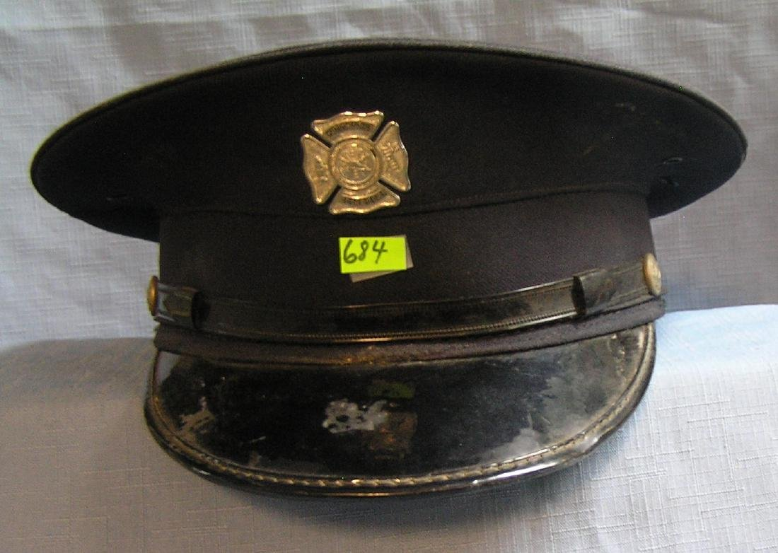 Cutchogue Long Island Fire chief dress cap