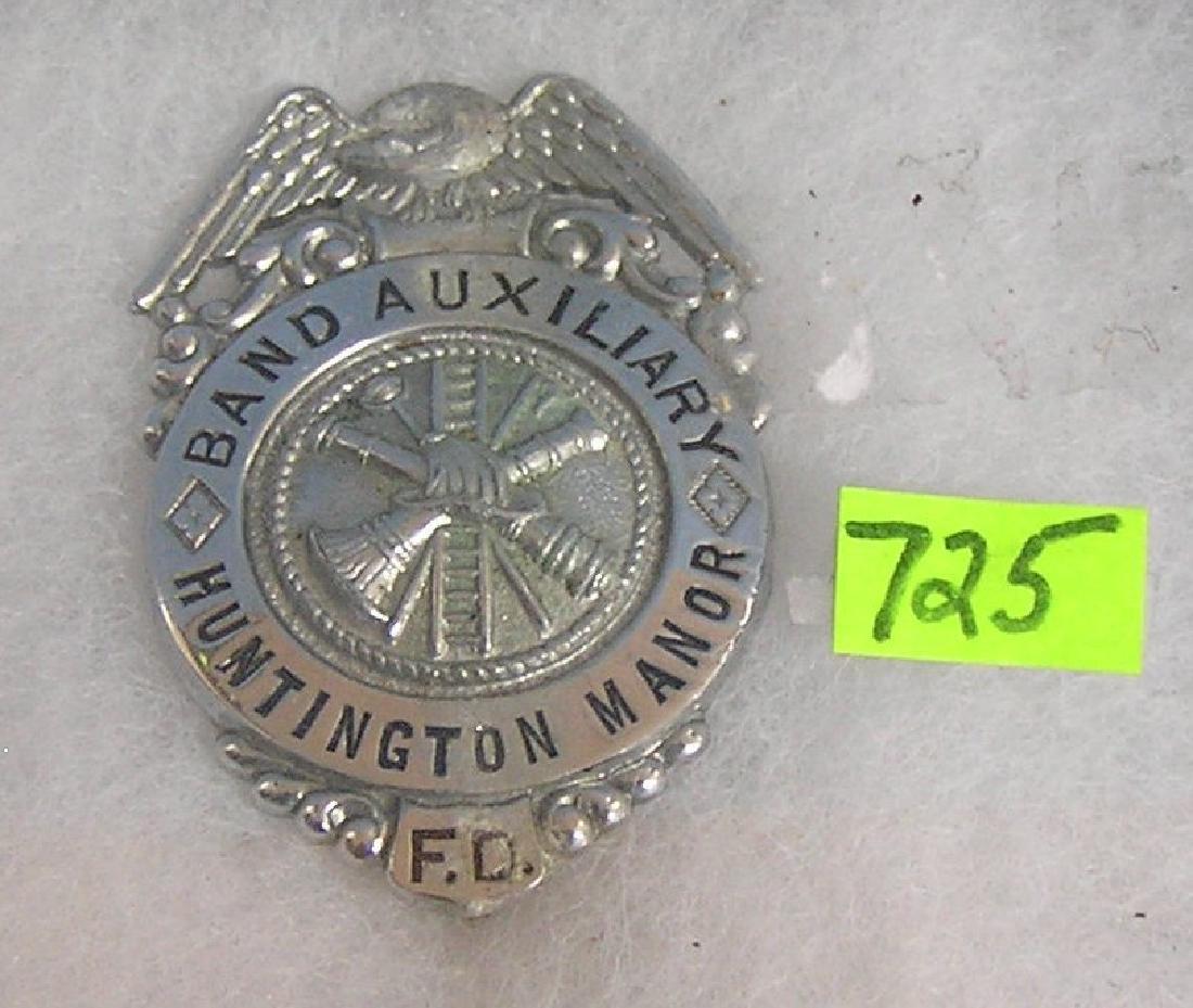 Vintage Huntington fire badge