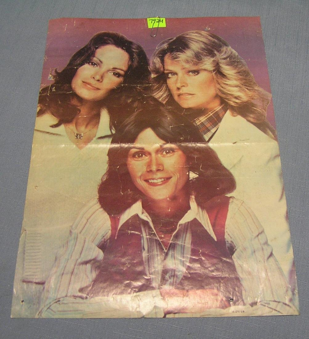 Original Charlie's angel's poster