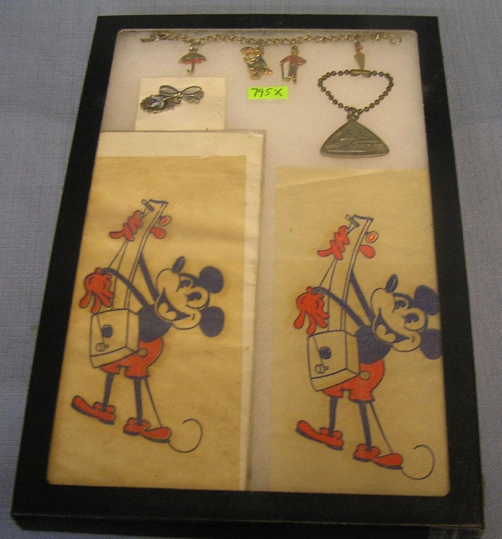 Group of early Walt Disney collectibles