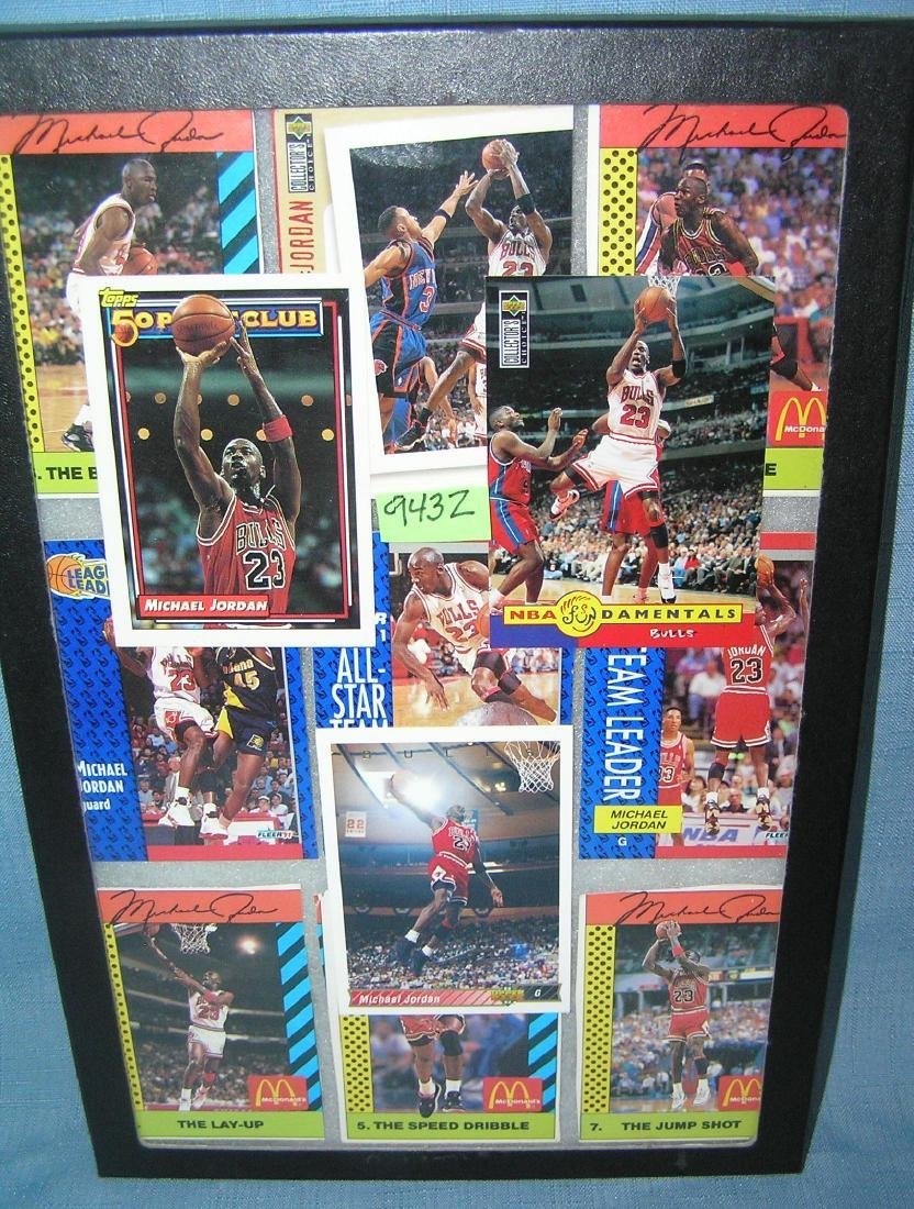 Collection of Michael Jordan all star basketball cards