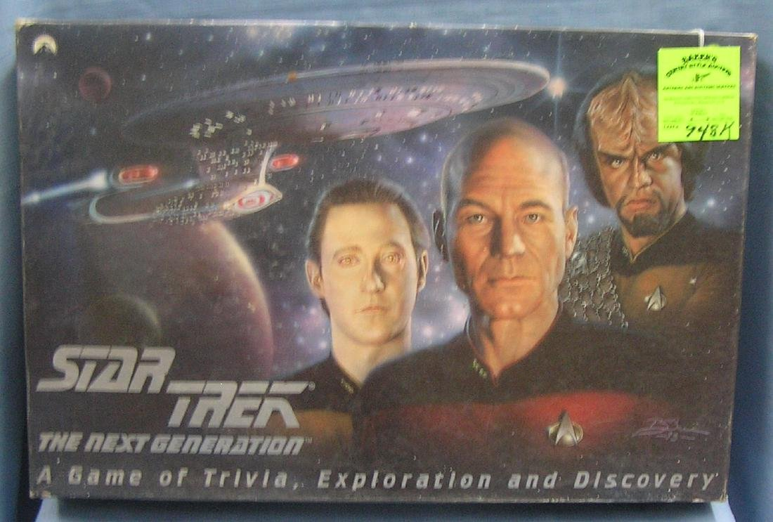 Star Trek exploration and discovery game