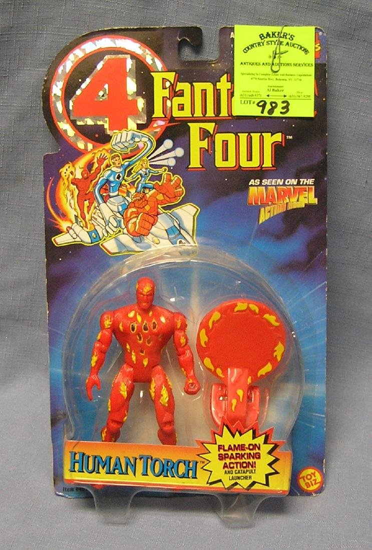 Fantastic Four Human Torch action figure