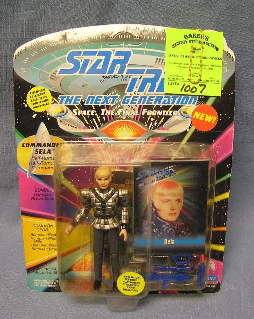 Vintage Star Trek the Cela action figure