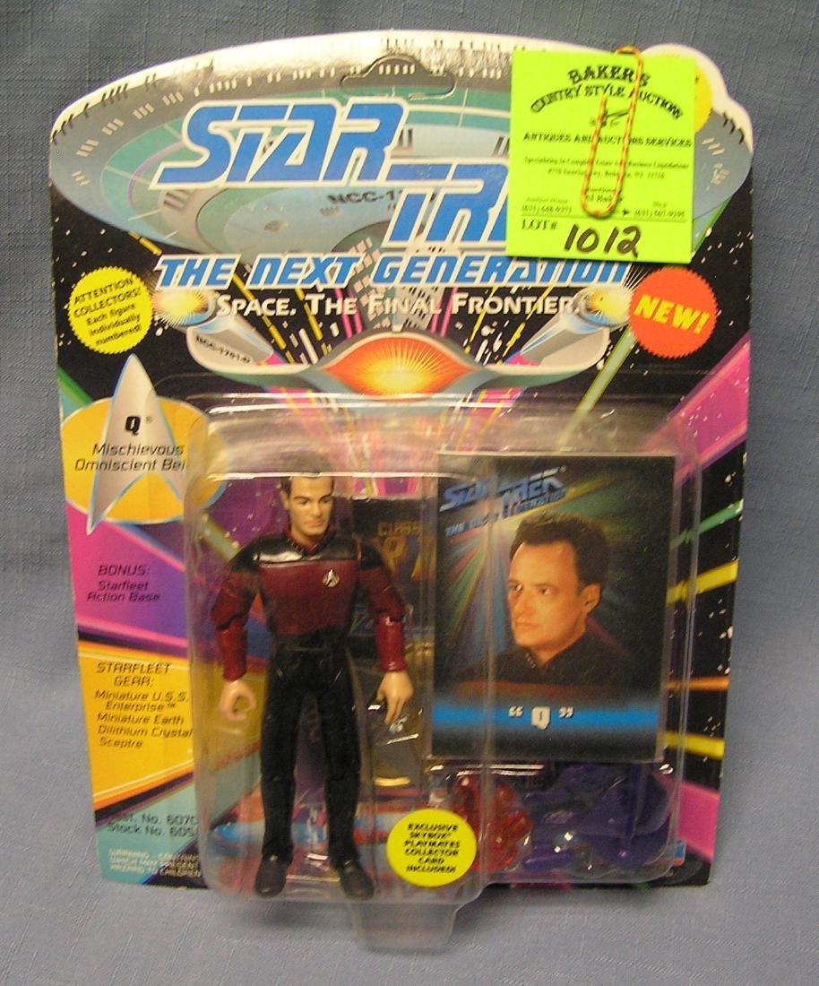 Vintage Star Trek the Q action figure