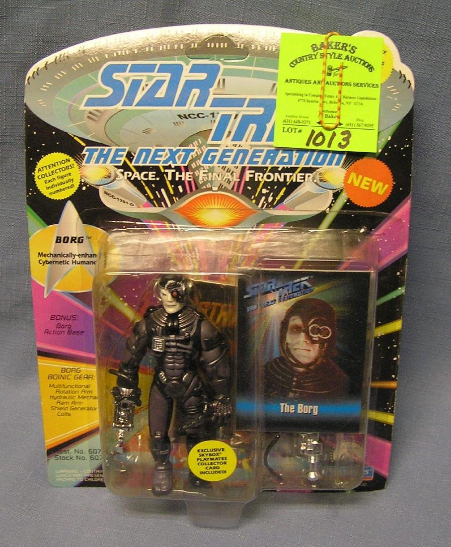 Vintage Star Trek The Borg action figure