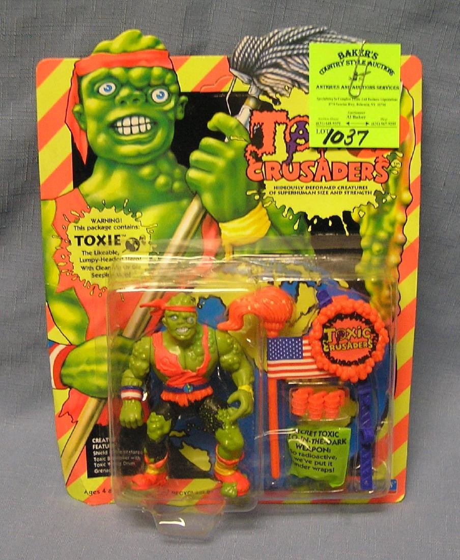 Vintage Toxic Crusaders Toxie action figure