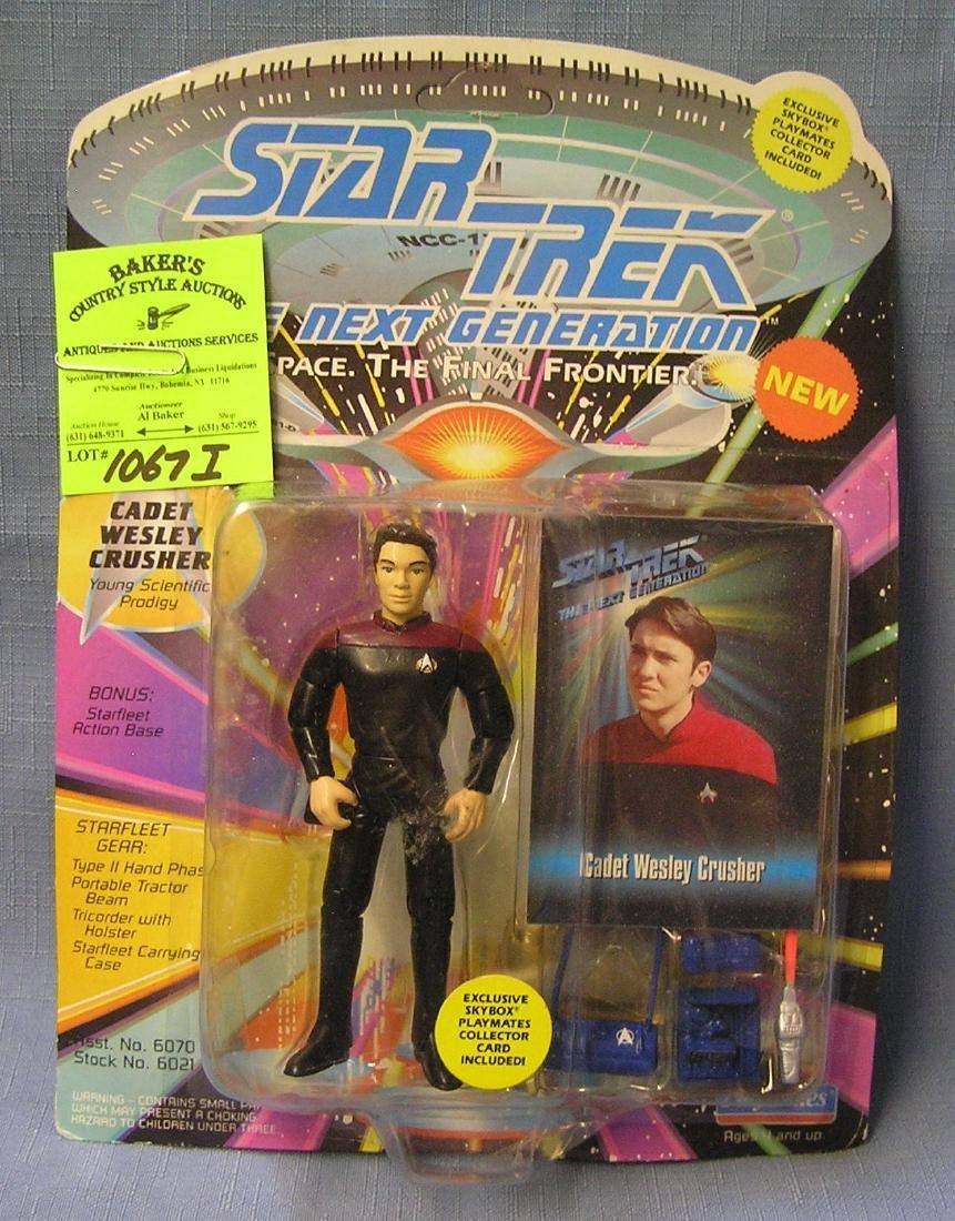 Star Trek action figure: Cadet Wesley Crusher