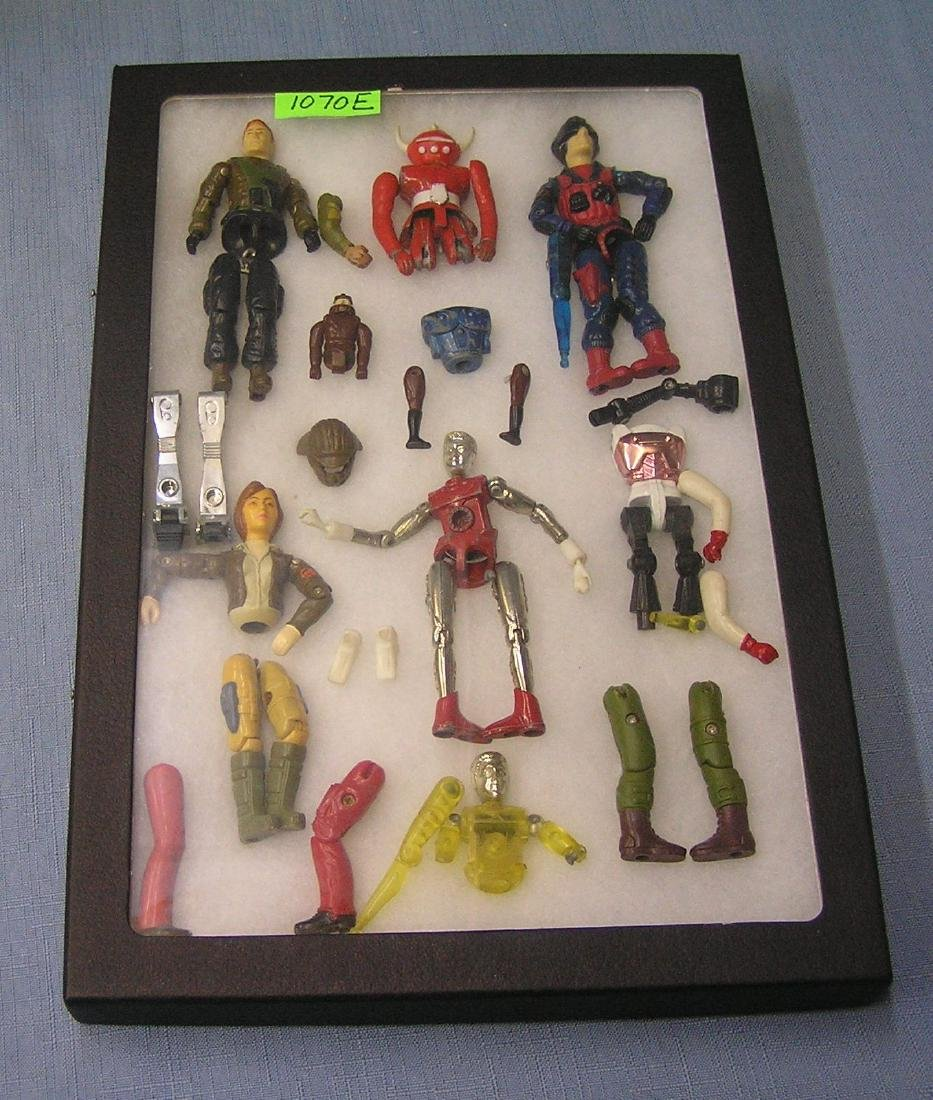 Vintage action figure parts and accessories