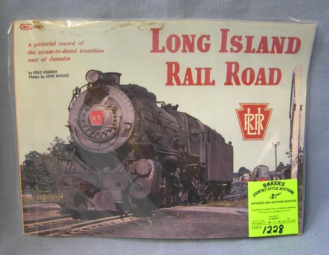 Long Island Rail road book by Fred Kramer