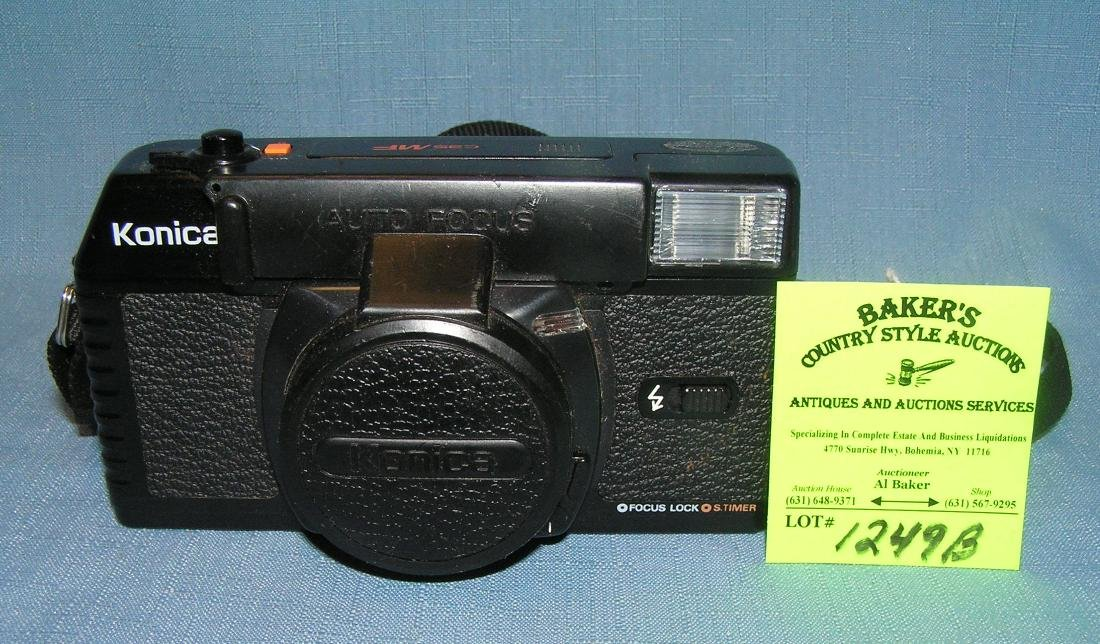 Vintage Konica autofocus 35mm camera