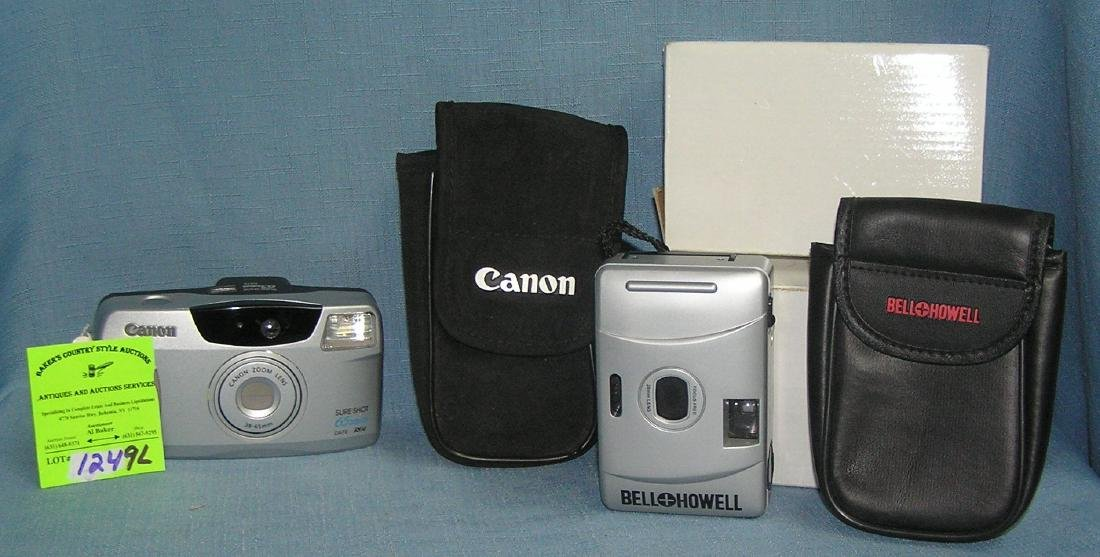 Group of 3 new and like new cameras