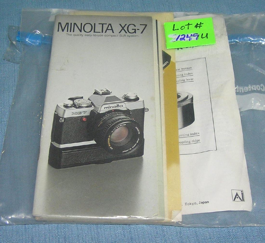 Vintage camera booklets, emphemera and more