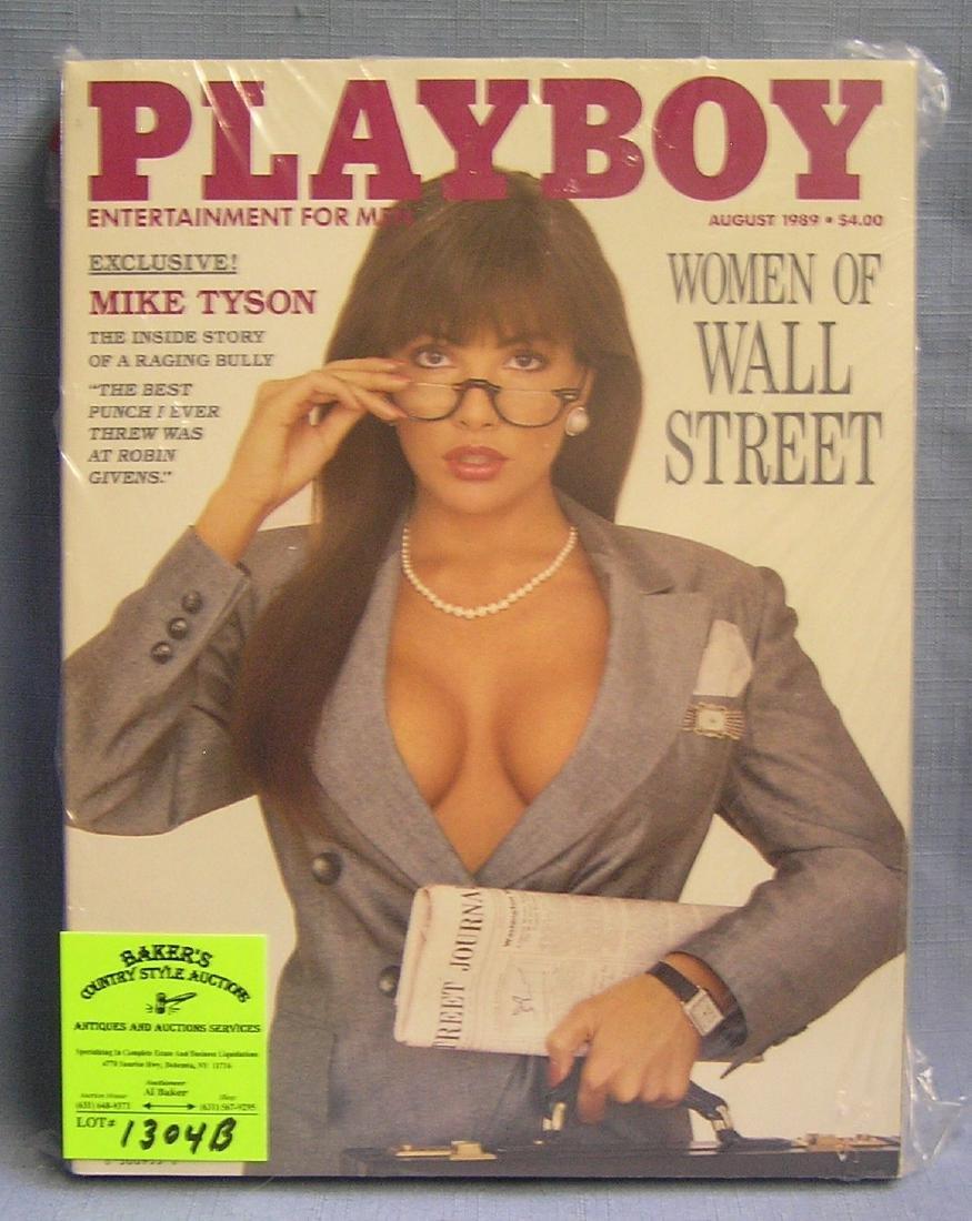 Collection of 1980's era Playboy magazines