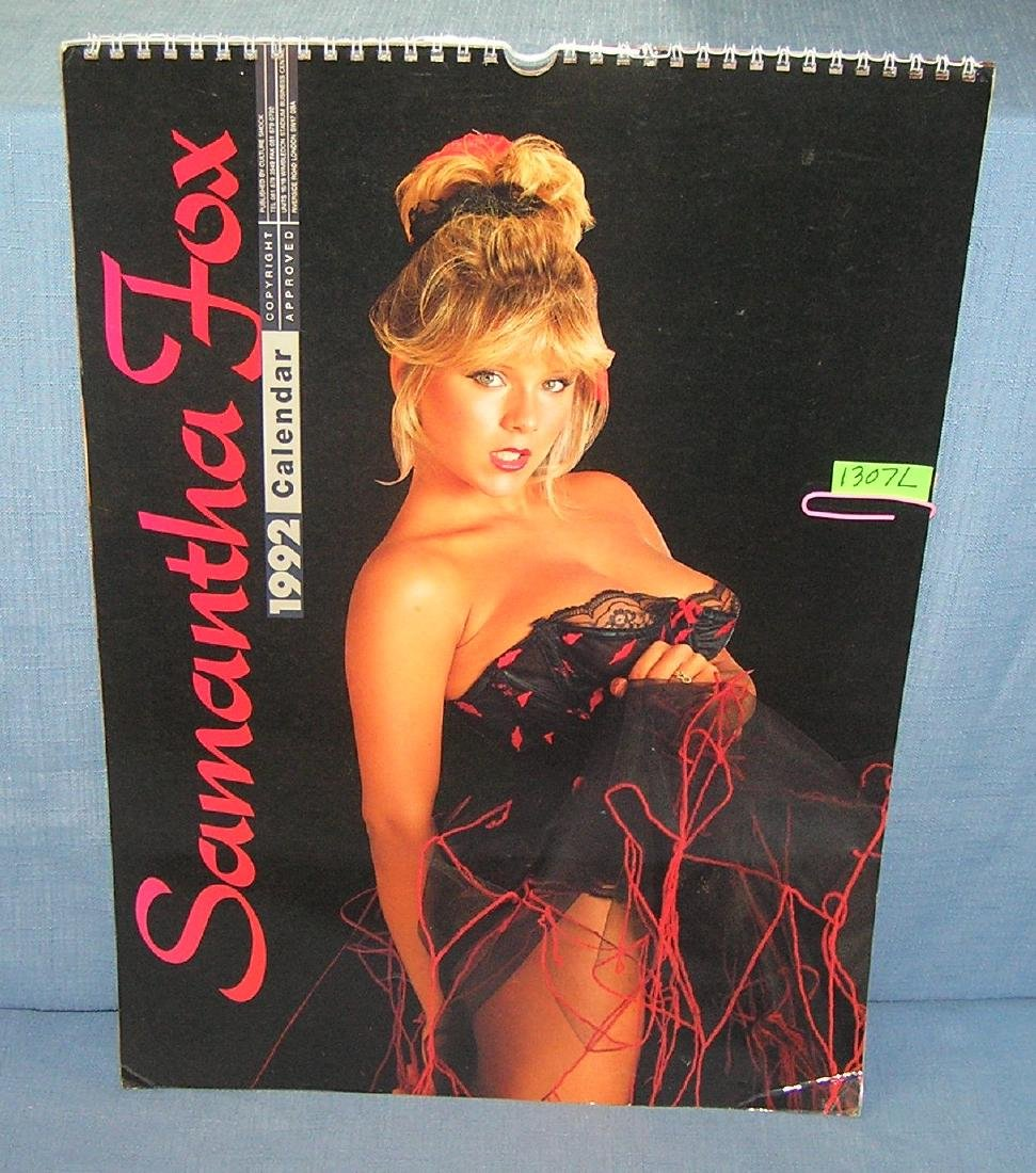 Vintage Samantha Fox pictural calendar