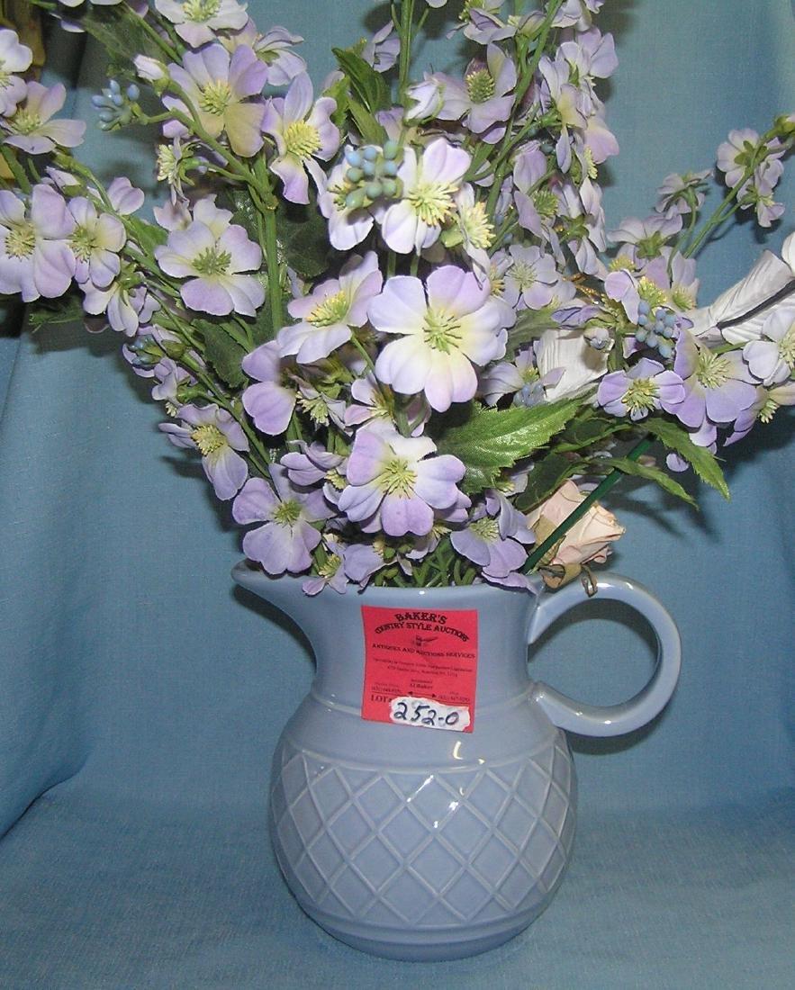 Modern porcelain pitcher