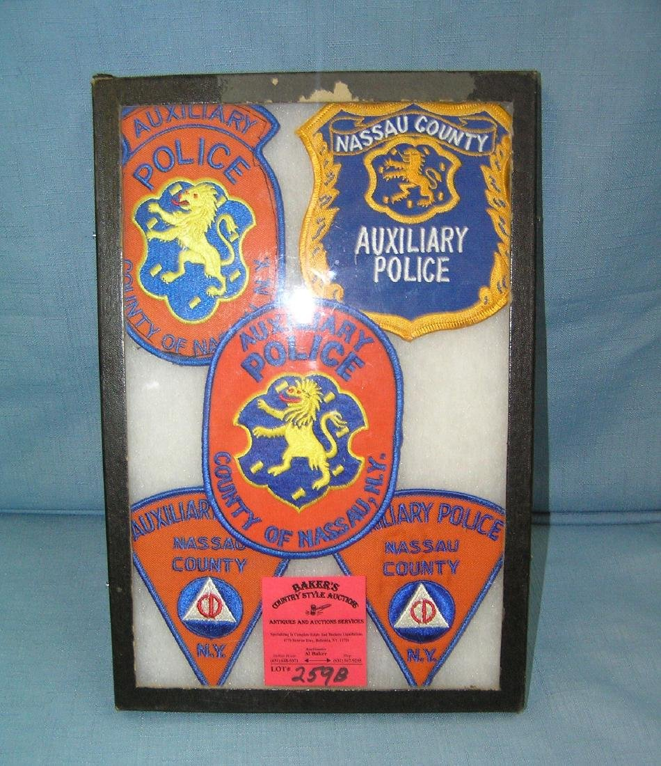 Collection of vintage Policeman's patches