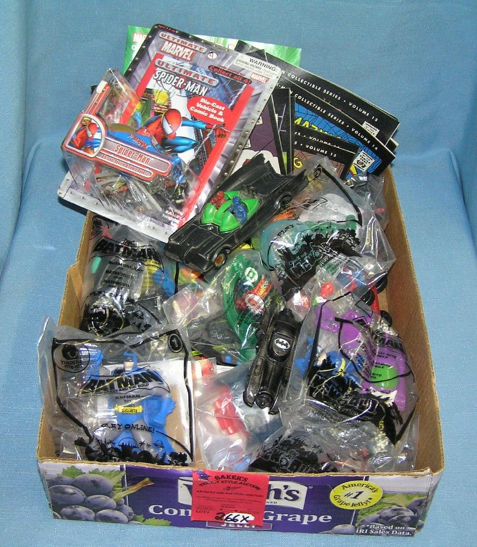 Batman and Super Hero collectible toys