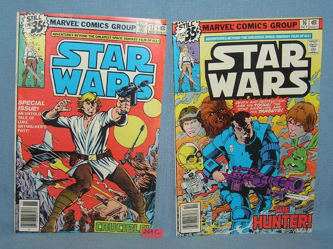 Star Wars comic books issues 16 and 17
